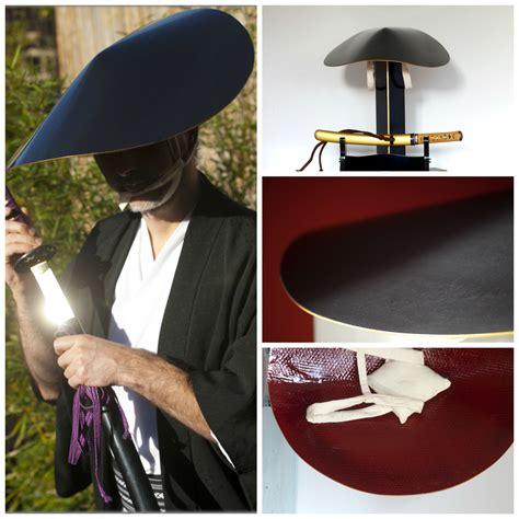 diy samurai hat jingasa