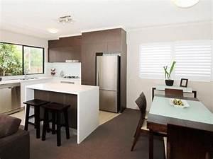 Nice Minimalist Home Kitchen Layout