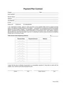 Sample Payment Plan Agreement Template