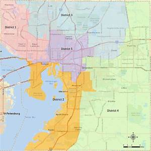 School Board Member District Map - Hillsborough County ...