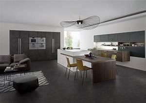 Style Contemporain : topos concrete kitchens kitchen showroom in fulham ~ Farleysfitness.com Idées de Décoration