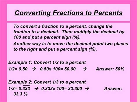 converting a percentage to a fraction in simplest form calculator converting between decimals fractions and percents sexy