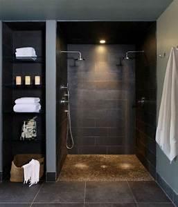 Douche à L Italienne Castorama : la salle de bain avec douche italienne 53 photos ~ Zukunftsfamilie.com Idées de Décoration