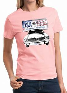 Ford mustang ladies shirt usa 1964 country tee t-shirt | Mustang t shirts, Shirts, Mens tops