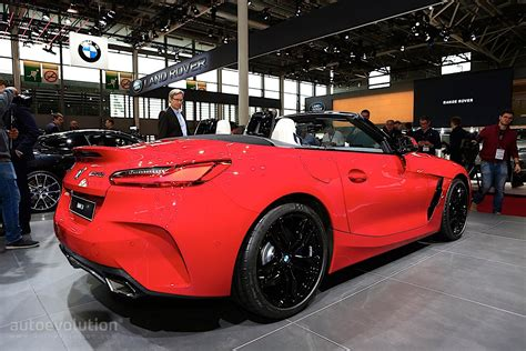 Research the 2021 bmw z4 with our expert reviews and ratings. Bright Red 2020 BMW Z4 Drops its Soft Top in Paris ...