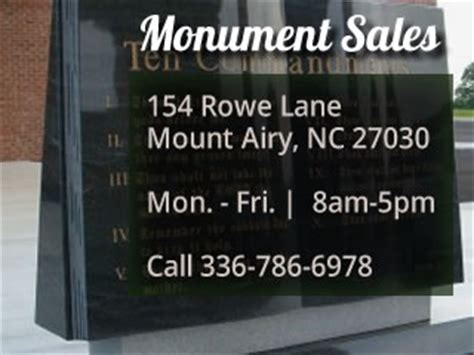 granite countertops headstones mt airy carolina