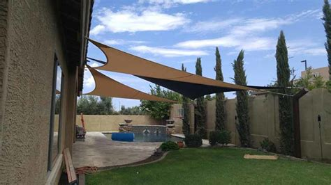 cost of shade sails how shade sails give you sun protection over your pool