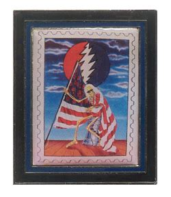 Grateful Dead Give Me Liberty Frame Pin Woodstock Trading