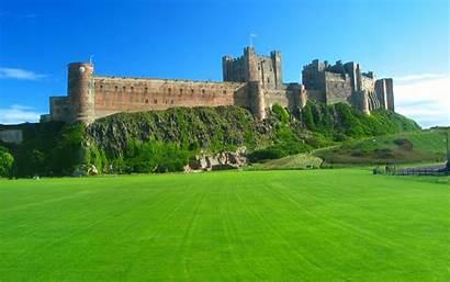 Castle Bamburgh Wallpapers Castles English Background Kingdom