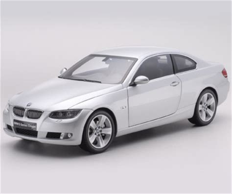 kyosho  bmw  series  door coupe  silver