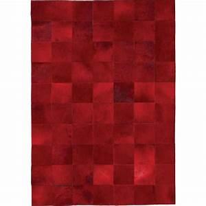 tapis de luxe contemporain rouge starless par angelo With tapis laine rouge