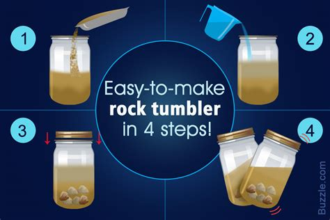 how to make rock extremely easy instructions on how to make a rock tumbler at home