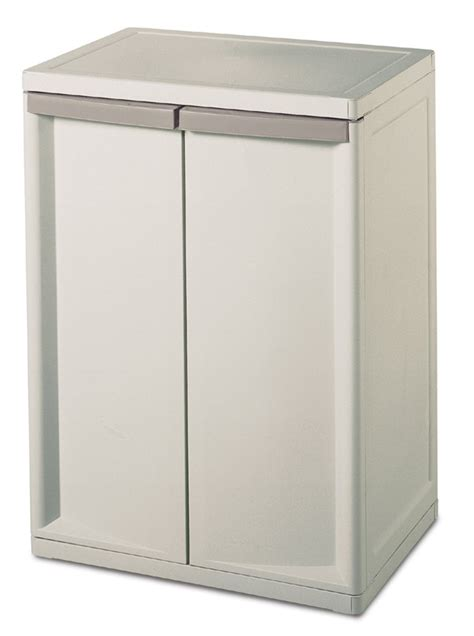 storage cabinets walmart sterilite 2 shelf storage cabinet 2 pack walmart