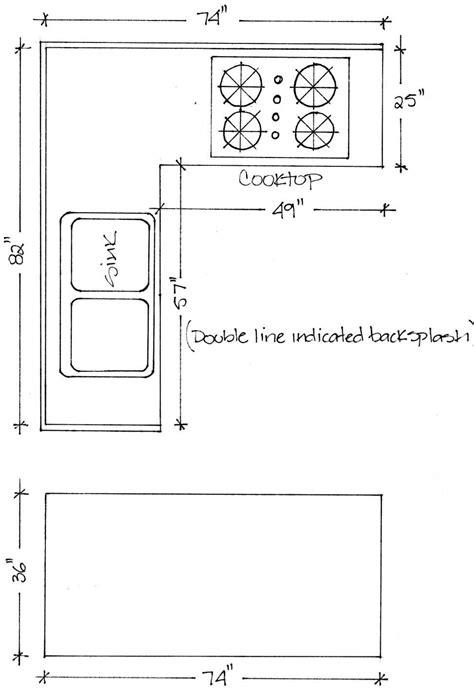 Kitchen Countertop Size - BSTCountertops