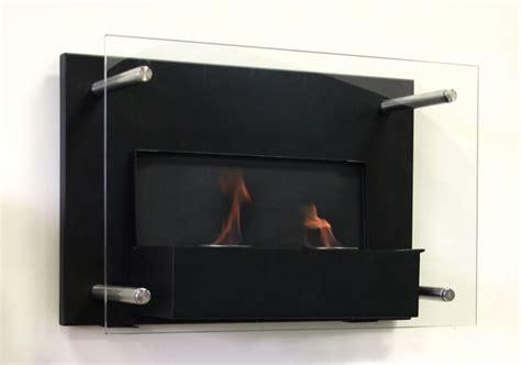 Paramount Indoor Gel Fuel Wallmount Fireplace With Build