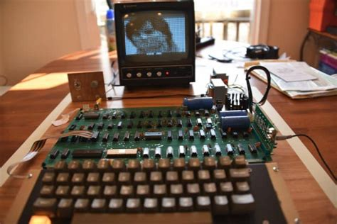 Rare Apple I Hits The Auction Block For Charity