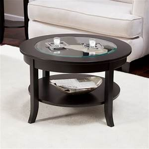 wonderful small round glass coffee table design home With round or rectangle coffee table