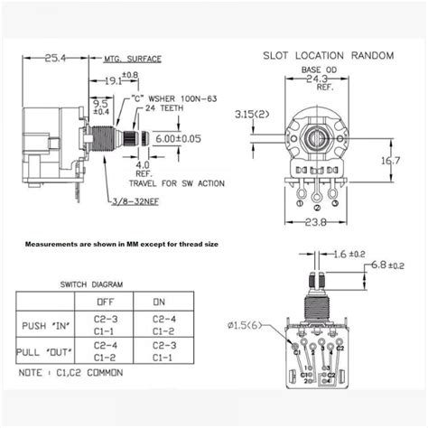Push Pull Wiring Diagram by Cts Push Pull Pot Wiring Diagram Wiring Library