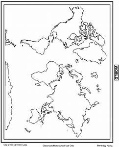 John Carter Fashion: blank world map with scale