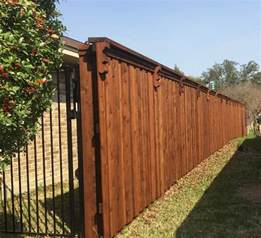 Wood Fence Estimate by Privacy Fences A Better Fence Company Privacy