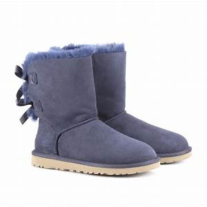 Ugg Boots : ugg bailey bow boots in blue navy lyst ~ Eleganceandgraceweddings.com Haus und Dekorationen