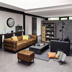 meubles deco dinterieur industriel maisons du monde With meuble industriel maison du monde