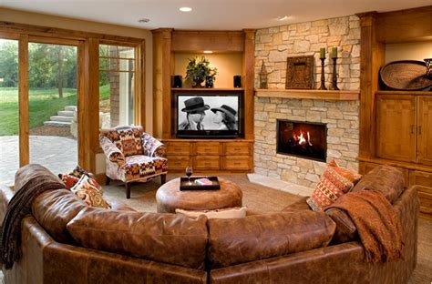 Living Room Setup With Corner Tv by When And How To Place Your Tv In The Corner Of A Room