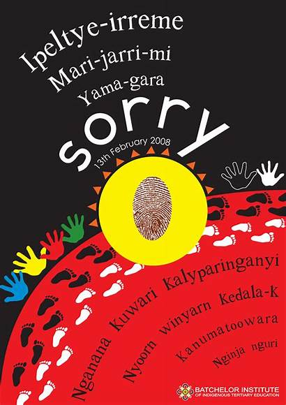 Sorry Posters Poster National Stolen Rudd Kevin