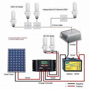 Solar Light Wiring Diagram