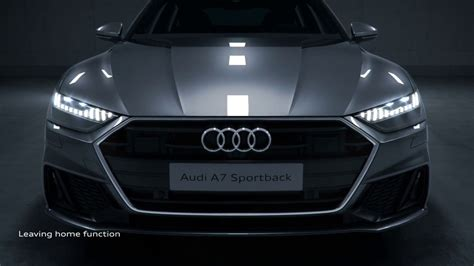 audi  led laser lights functions youtube