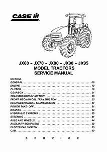 Case Ih Jx80 Tractor Service Repair Manual