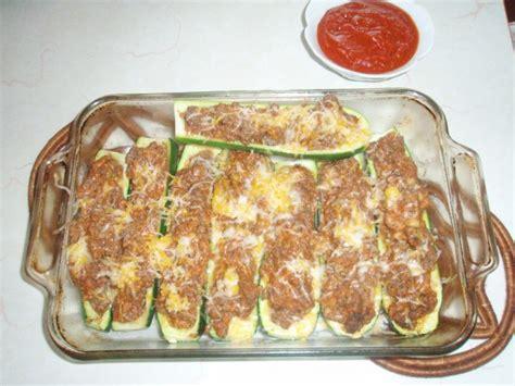 Freezing Stuffed Zucchini Boats by Zucchini Boats Thriftyfun