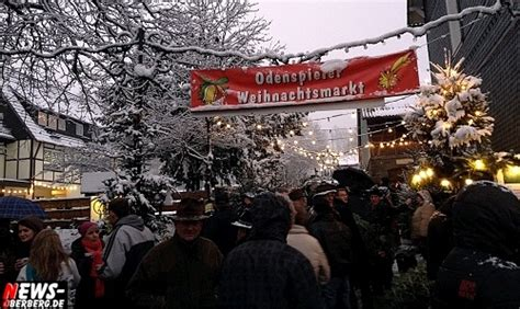 odenspieler weihnachtsmarkt erster weihnachtsmarkt im