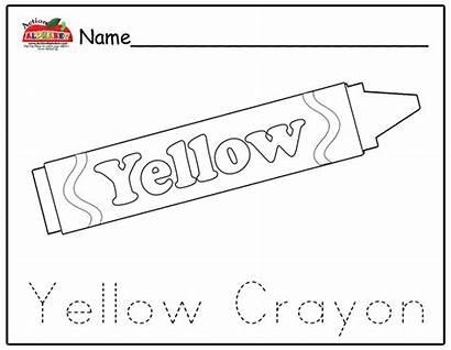 Yellow Crayon Coloring Wallpapers Lesson Plans Wallpapersafari