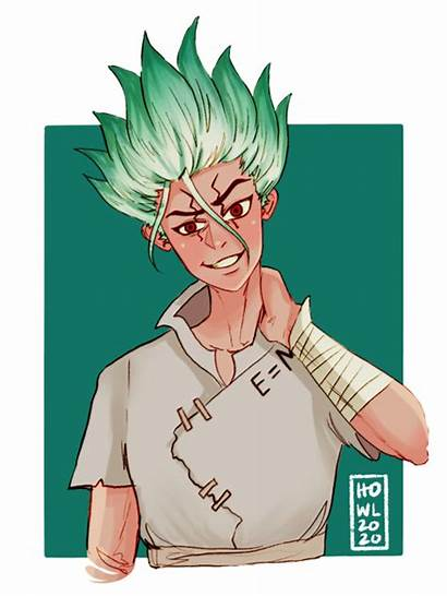 Howling Dr Stone Anime Personagens Ficticios Postagens