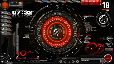 Best Theme by Best Rainmeter Themes 2014
