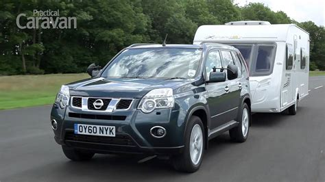 practical caravan nissan  trail review  youtube