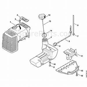 Stihl Fs 450 Clearing Saw  Fs450  Parts Diagram  D