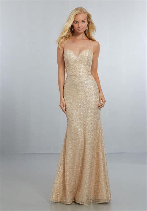 fitted caviar mesh bridesmaids dress  sweetheart
