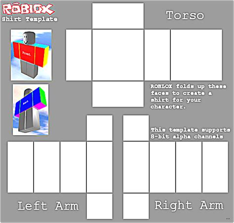 roblox template roblox shirt template screenshoot studiootb