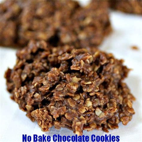 no bake cookie recipe no bake chocolate cookies