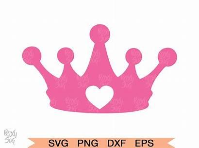Svg Crown Princess Cricut Crowns Tiara Silhouette