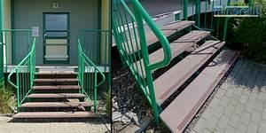 Treppenstufen Außen Beton : au enbereich treppenstufen ~ Frokenaadalensverden.com Haus und Dekorationen