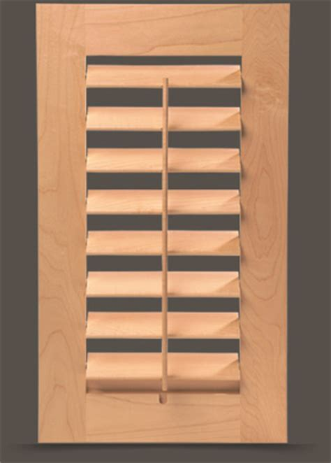 Custom Louvered Doors & Wood Shutters for Cabinets and