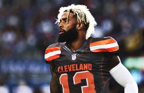 odell beckham jr cleveland browns nuts  bolts sports