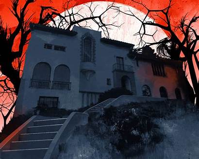 Murder Spooky Los Angeles Mansion Houses Medium
