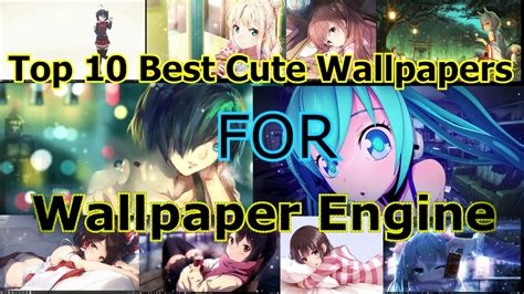 Best Anime Wallpaper Engine - top 10 best anime wallpapers for wallpaper engine
