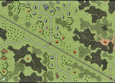 custom advanced squad leader map advanced squad leader