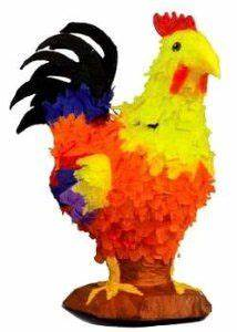 Rooster Pinata by Aztec Imports. $20.99. Fill with candy ...