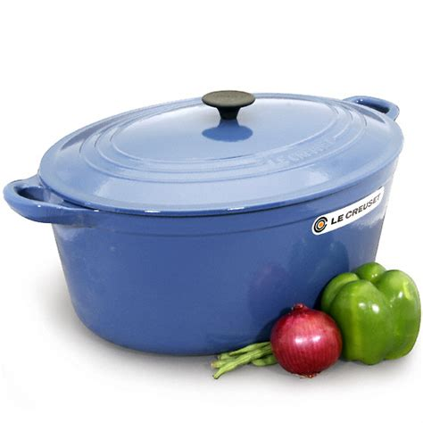 le creuset 15 1 2 quart signature oval oven 2 colors on sale free shipping us48